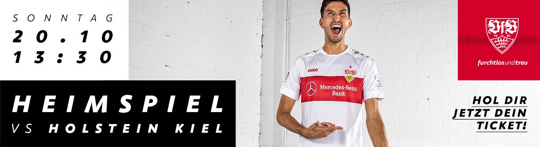 VfB Stuttgart Holstein Kiel | Tageskarten | HEIMSPIELE